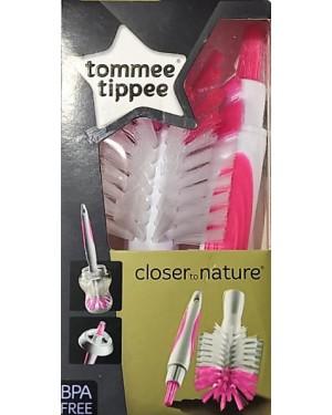 מנקה פטמות ובקבוקים | tommee tippee | ורוד